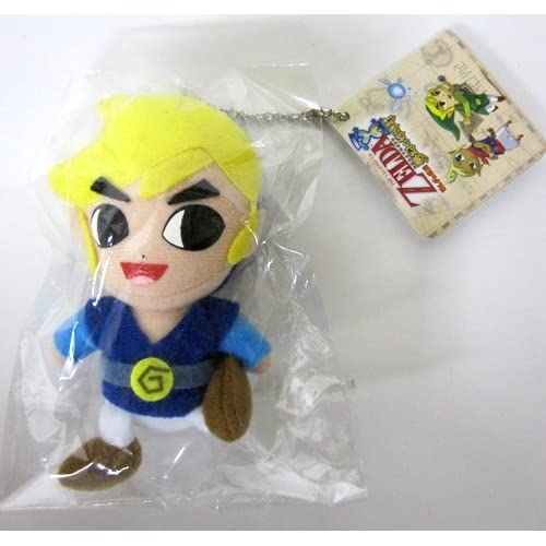 Amazon.com : Zelda Wind Waker: Link (Blue Outfit) Plush
