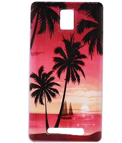 Sunset Scene Exclusive Rubberised Soft Silicon Back Case Cover For Xolo Era