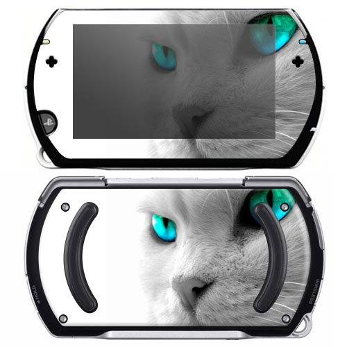 Cool Cat Decorative Protector Skin Decal Sticker for Sony Playstation PSP Go System