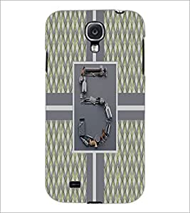 PrintDhaba Numerology Number 5 D-2715 Back Case Cover for SAMSUNG GALAXY S4 (Multi-Coloured)