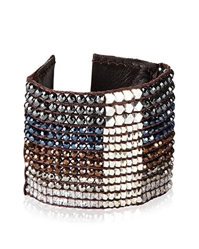 Nakamol Crystal Woven Cuff As You See