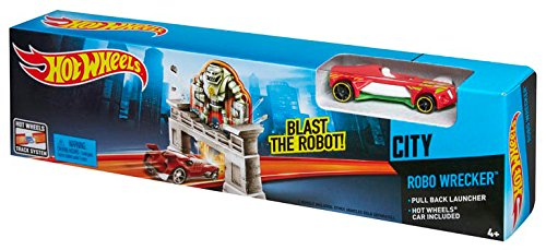 Hot Wheels Robo Wrecker Track Set