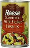 Reese Quartered Artichoke Hearts, 14-Ounce Cans (Pack of 12)