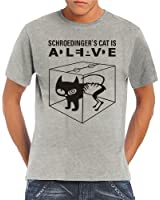 Touchlines - Schroedingers Cat Is Alive T-Shirt S-5XL div. Farben