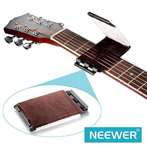 Neewer®-Panno in microfibra per la pulizia ultra delicato detergente per le corde per chitarra basso Ukulele Mandolino Violino e altri strumenti String
