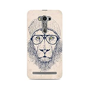 Ebby Lion with Glasses Premium Printed Case For Asus Zenfone 2 Laser ZE550KL