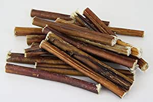 6 inch natural bully sticks 18pk proudly made in the usa low odor 100 beef. Black Bedroom Furniture Sets. Home Design Ideas