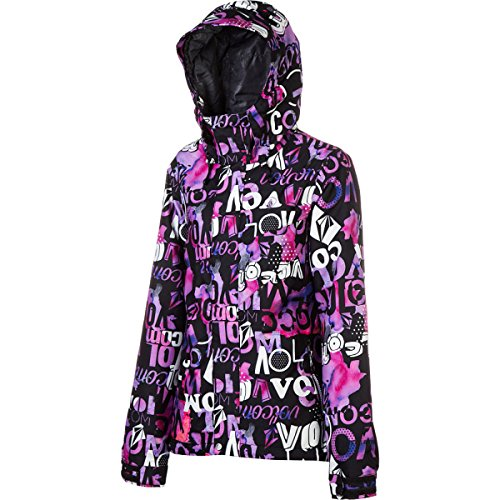 Volcom Slogan Insulated Jacket – Women's Purple, XXS