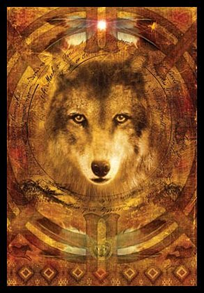 Wolf Indian Spirit Guide