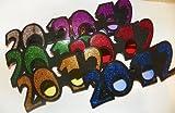 Graduation 2012 Glitter Glasses - 1 Dozen