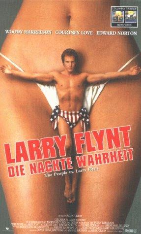 Larry Flynt - Die nackte Wahrheit [VHS]