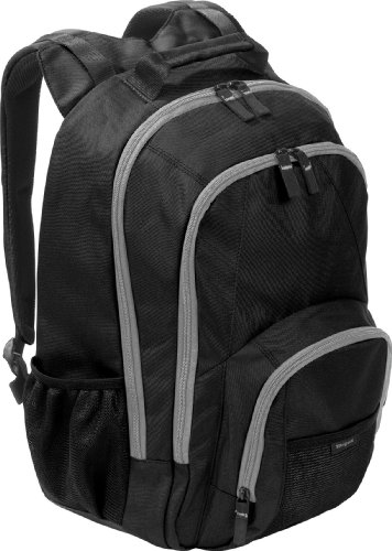 Targus Groove BTS Backpack Case Designed for 15.6-Inch Laptops TSB152US (Black with Grey Accents)
