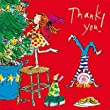 Quentin Blake Christmas Thank You Cards - Pack of 10