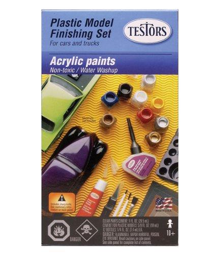 Testors Finishing Acrylic Paint Set