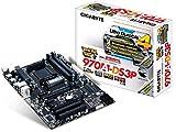 Gigabyte GA-970A-DS3P Mainboard Sockel AM3+ (ATX, AMD 970/SB950, 6x SATA III, 4x DDR3-Speicher, RJ-45, 2x USB 3.0)
