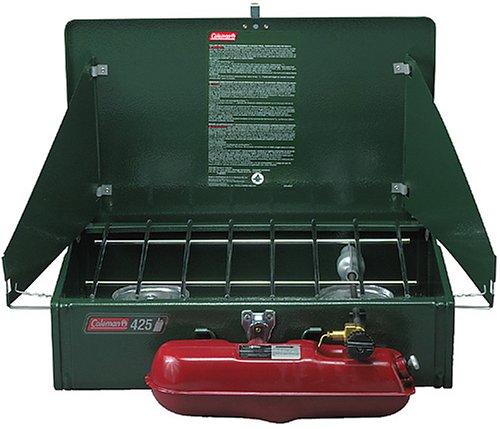 Coleman 425F499G 2 Burner Compact Gas Stove горелка coleman f1 power stove pz 202662