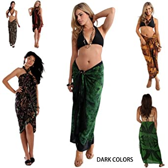 1 World Sarongs Womens Pot Luck Assorted Sarongs*