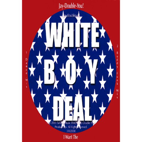 I Want the White Boy Deal! Tm Cd Single/2 Mix's Plus Free Dvd Music Video You Cannot Digital Down Load Video Only Music