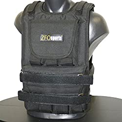 ZFOsports 60Lbs Adjustable Weighted Vest