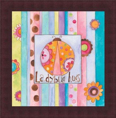 Barewalls Wall Decor by Bernadette Deming, Ladybug Hugs