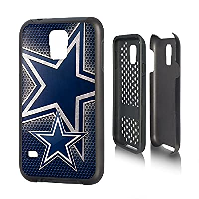 Dallas Cowboys Rugged Case for Samsung Galaxy S 5 Cell Phones - Black/Blue/Silver/White