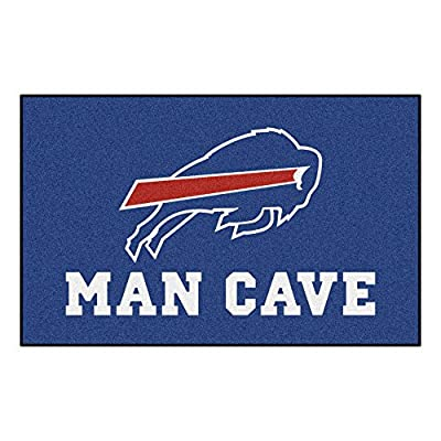 FANMATS 14274 NFL Buffalo Bills Nylon Universal Man Cave UltiMat Rug