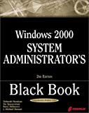 img - for Windows 2000 System Administrator's Black Book with CDROM book / textbook / text book