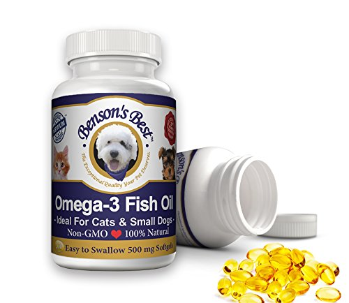 Top best 5 fish oil omega 3 for dogs for sale 2016 for Omega 3 fish oil for dogs