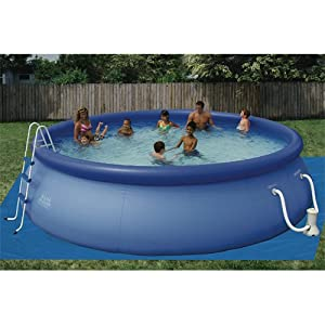 summer escapes 16x42 quick set ring pool sports outdoors. Black Bedroom Furniture Sets. Home Design Ideas