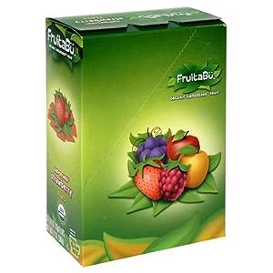 FruitaBu Organic Smooshed Fruit, Smoooshed Strawberry, 0.4-Ounce Flats (Pack of 30)