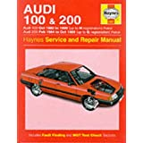 "Audi 100 1982-90 and 200 1984-89 Service and Repair Manual (Haynes Service and Repair Manuals)von ""John S. Mead"""