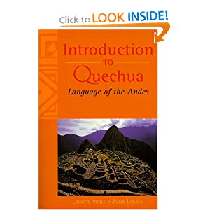 Amazon.com: Introduction to Quechua: Language of the Andes ...