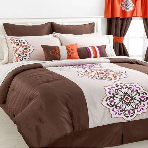 Jessica Sanders Aveline 24 Piece Cal King Comforter Bed In A Bag Set front-642174
