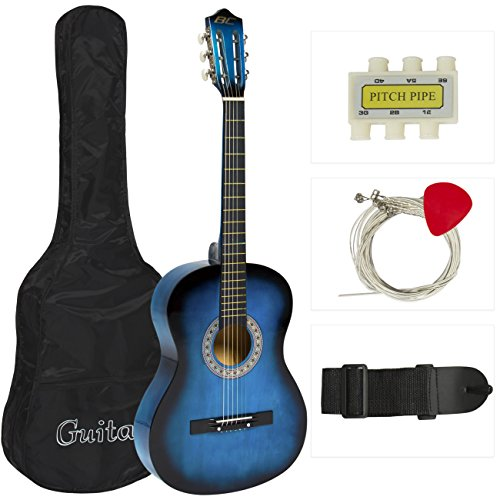 best-choice-products-beginners-acoustic-guitar-with-case-strap-tuner-and-pick-blue