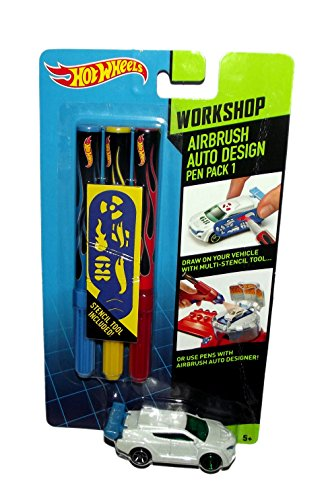 Hot Wheels Airbrush Auto Design Workshop Pen Pack 1 - 1