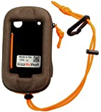 Garmin Montana 650t 650 600 Heavy-Duty Case in 'Hunter's Coffee' w/ Cord Loop & Lanyard w/Clip. MADE IN THE USA. Search 'GizzMoVest' for all colors.