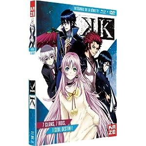 K - Intégrale Combo Bluray + DVD [Combo Blu-ray + DVD]