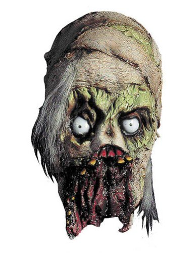 Scary-Masks Mummy Mask Halloween Costume - Most Adults