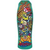 Santa Cruz Skateboard Decks - Santa Cruz Hosoi ... (Color: Blue, Tamaño: One Size)