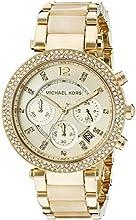 Comprar Michael Kors MK5632 - Reloj de cuarzo para mujer, correa de diversos materiales color dorado