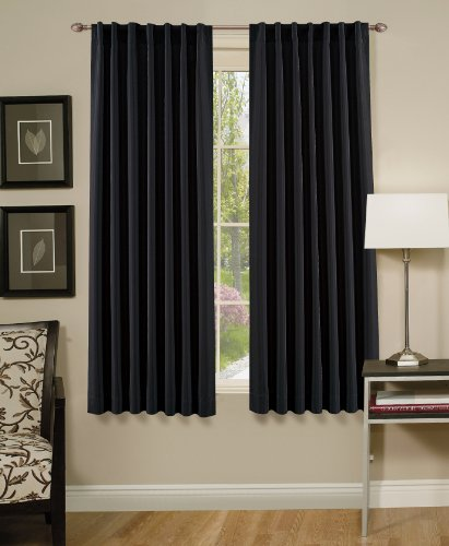 Chezmoi collection solid color charcoal thermal insulated Thermal windows reviews