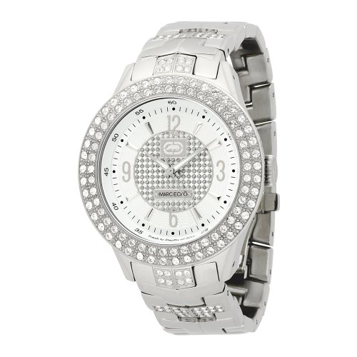 Marc Ecko Men's E16533G1 Silver Iced Watch