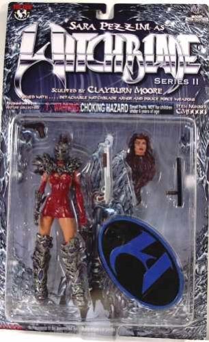 Moore Witchblade Series 2 Pezzini 2 Head Variant Figure