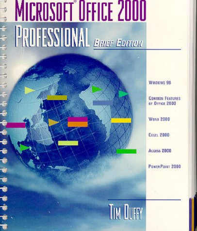 Microsoft Office 2000 Professional Brief Edition