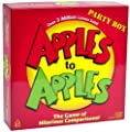 Apples To Apples Party Box - The Game Of Hilarious Comparisons from Mattel