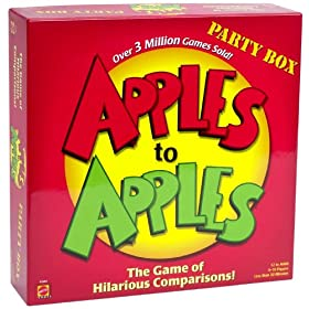 Apples to Apples board game!
