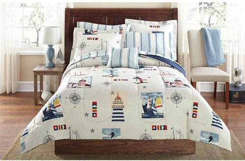 Twin Nautical Bedding 6930 front