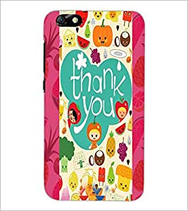 PrintDhaba Quote D-4982 Back Case Cover for HUAWEI HONOR 4X (Multi-Coloured)