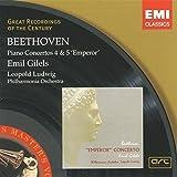 Beethoven : Piano Concertos 4 & 5 'Emperor'