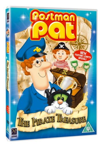 Postman Pat Pirate Treasure [DVD]